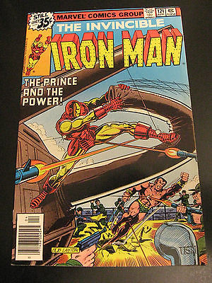 Wow *8* IRON MAN: #119,120,121,122,123,124,125,127 9.4/NM GEMS WP