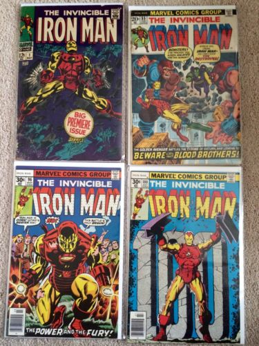 Invincible Iron Man 1-100 Complete Run Thanos Drax Avengers No Reserve