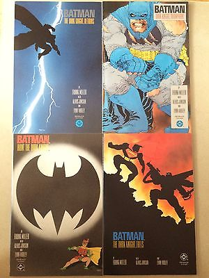 BATMAN: THE DARK KNIGHT RETURNS, BOOK # 1 - 4 (1986) TPB DC COMICS VF to VF/NM
