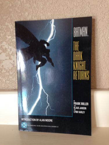 BATMAN The Dark Knight Returns 1-4 TPB Softcover - Frank Miller. High Grade