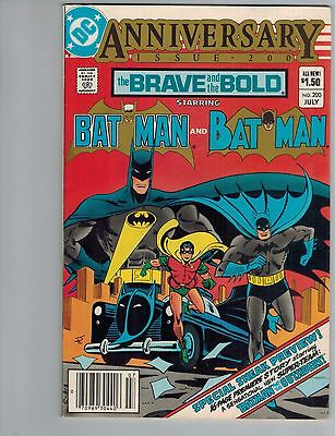 The Brave & the Bold 200  Batman & 1st Katana and Outsiders  VF 1983 DC Comic