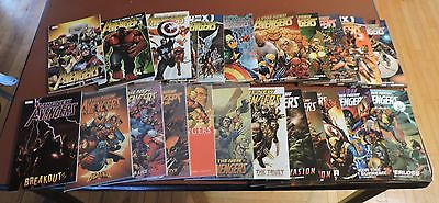 New Avengers tpb Vol. 1-12 New Avengers/Avengers by Bendis Vol. 1-5 each unread