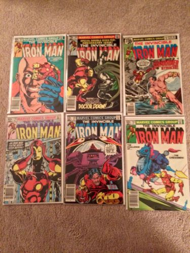 Invincible Iron Man Lot 86 Issues 101-199 VG-F Nearly Complete AvengersWOW