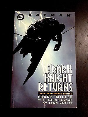 Batman The Dark Knight Returns tenth / 10th Anniversary TPB DC, 1996 1st Print