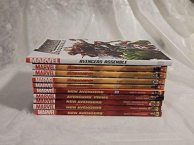 Marvel Bendis Avengers Lot 1 OHC  9 PHC lot. Assemble, New Avengers, Avengers,