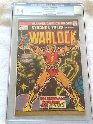 Strange Tales #178 CGC 9.4 NM, 1st Appearance Magus, Marvel 1975, Warlock Begins