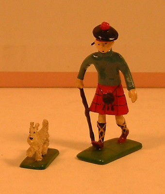 Herge Tintin 2e serie Pixi 4511 Tintin en Ecossais avec Milou
