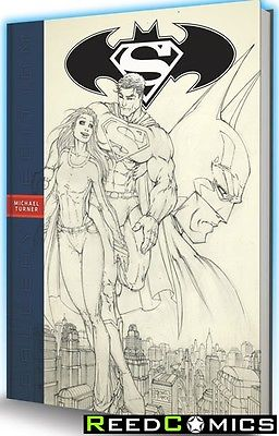 SUPERMAN BATMAN MICHAEL TURNER GALLERY EDITION OVER-SIZED HARDCOVER New Hardback
