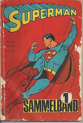 SUPERMAN SAMMELBAND 1 -  60iger Jahre Alle vier Hefte 1966 TOP-RAR