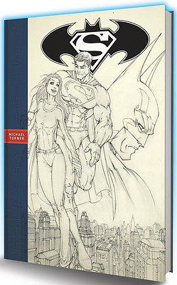 SUPERMAN BATMAN MICHAEL TURNER GALLERY EDITION HARDCOVER HC GRAPHITTI