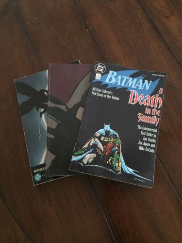 Batman TPB Lot Year One Death In The Family Dark Knight Returns Frank Miller