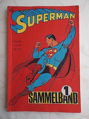 Superman Sammelband 1 aus dem Jahr 1966 vom EHAPA-Verlag wie neu