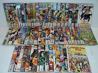 Fantastic Four 381-416, Annual 20-27, Unlimited 1-6, more SET 59 bks (bd-8414)
