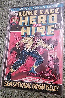 Marvel Comics Luke Cage Hero for Hire #1 Sensational Origin Issue VERY RARE VG