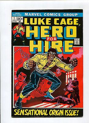Hero for Hire #1 High Grade VF+ 8.5 Luke Cage HOT Origin Issue Marvel Bronze Age