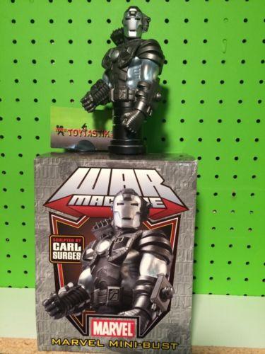 Bowen Designs Marvel Comics Mini Bust Iron Man War Machine #137/2500