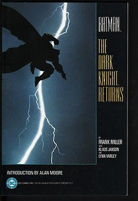 BATMAN THE DARK KNIGHT RETURNS-TPB-FIRST PRINT-NM/MINT-1986