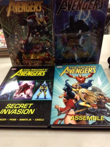 The Mighty Avengers, Dark Avengers & Avengers Bendis Hard Cover 4 Pack