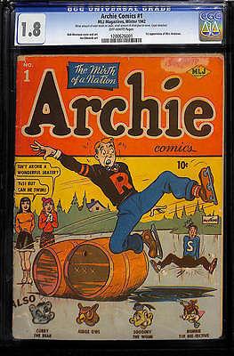 ARCHIE COMICS #1 G- 1.8