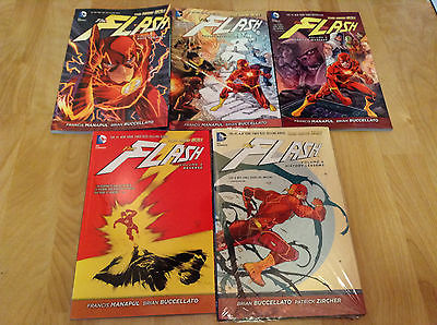 The Flash Vol The New 52 History Lessons 5