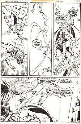 DON HECK SUPERGIRL Superman Family #194 Original Comic Art Bronze Age DC 1977