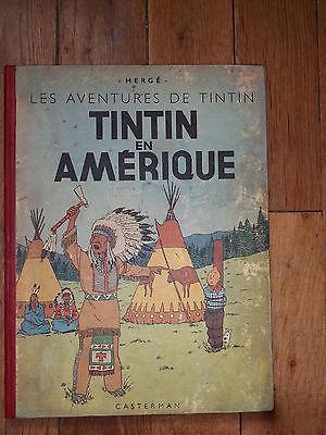 TINTIN EN AMERIQUE  EO 1946  B1