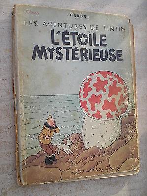 Tintin l'étoile mystérieuse B1 de 1946.