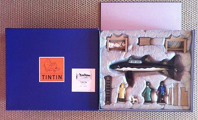 Hergé Tintin Pixi Moulinsart Trésor de Rackham le rouge 1997 1000ex