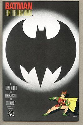 GN/TPB Batman The Dark Knight Returns #3-1986 nm- 1st cover Frank Miller Superma