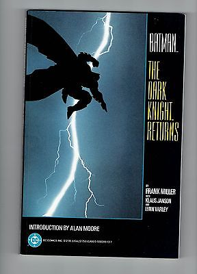 DC BATMAN THE DARK KNIGHT RETURNS TPB 1ST PRINTING GREAT CONDITION SEE SCANS