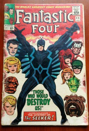 Fantastic Four #46 (1966) First 1st Appearance Black Bolt 2nd app. Inhumans