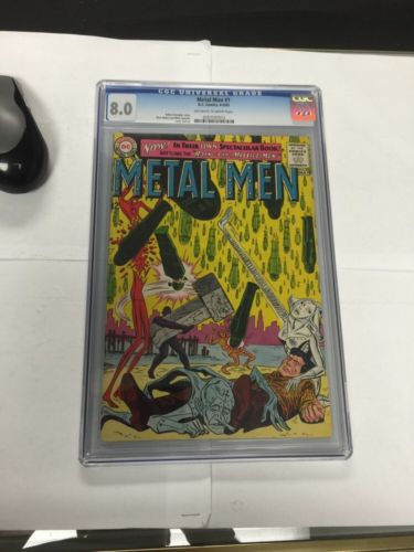 Metal Men 1 Cgc 8.0 Off White To White Pages