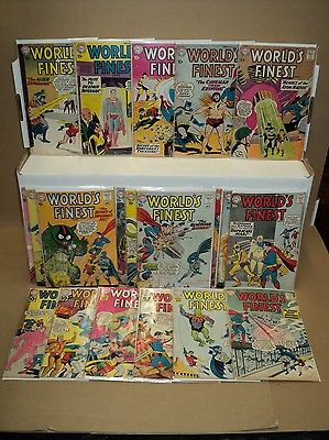 World's Finest 101-120 SET 1959-1961 Superman, Batman DC comics (s# 5815)