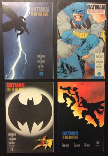 DC Comics BATMAN The Dark Knight Returns TPB #1-4 1st Prints FN-VF+