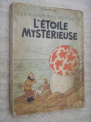 Tintin l'étoile mystérieuse B1 de 1946 pull 2 couleurs.