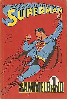 SUPERMAN Sammelband Nr. 1, EHAPA, 1966.