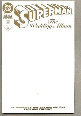 Superman The Wedding Album #1-1996 nm RRP Limited Edition Gold Variant edition