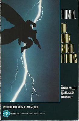 **BATMAN: THE DARK KNIGHT RETURNS TPB GRAPHIC NOVEL**(1986, DC)**COMPILES #1-4**