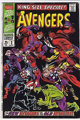 AVENGERS KING-SIZE SPECIAL #2_SEPT 1968_VF MINUS_NEW AVENGERS Vs OLD AVENGERS