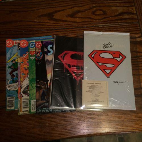 Comicsvalue Com Superman Comic Book Lot Death Of