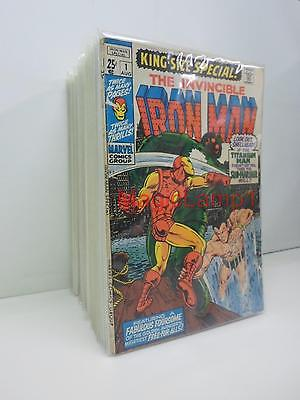 48 Iron Man Issues #101-150 Plus Annuals - Many High Grade - $400 Guide - #128