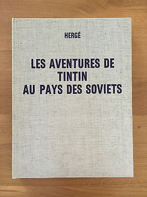 Hergé Tintin au Pays des Soviets Edition de Luxe 1969 NEUF.