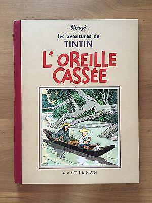 Hergé Tintin L'Oreille Cassée Edition 1941 Etat tout Proche du NEUF.