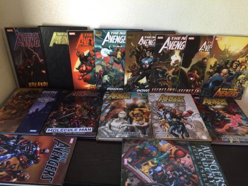 Dark Avengers Vol. 1-3 + Avengers Academy Vol. 1-4 + New Avengers Vol. 1-2 6-10