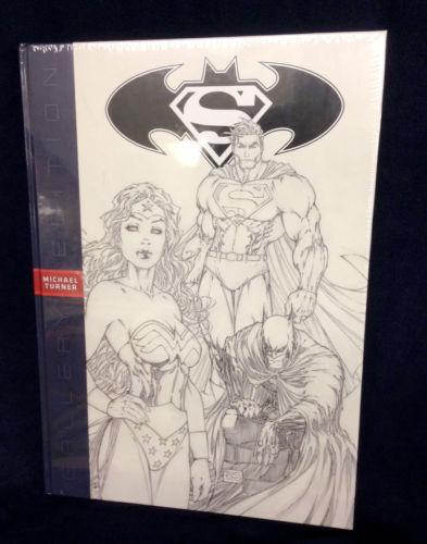 MICHAEL TURNER SUPERMAN/BATMAN VARIANT GALLERY EDITION BOOK