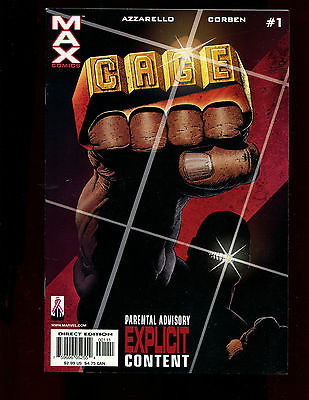 CAGE 5 ISSUE SET(6.0)(FN)1,2,3,4,5-BRIAN AZZARELLO-MARVEL MAX COMICS(st000)