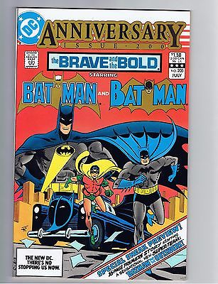 Brave and the Bold (1st Series DC) #200 VF+ 1st Appearance Batman & Outsiders