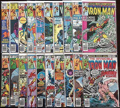 Bronze Age Marvel Comic Lot- Iron Man #120-139 NO RESERVE