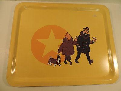 Herge Tintin Plateau Etoile Mysterieuse annees 90