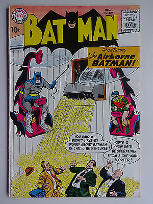 BATMAN #120     AIRBORNE BATMAN      1958    DC COMICS      _I